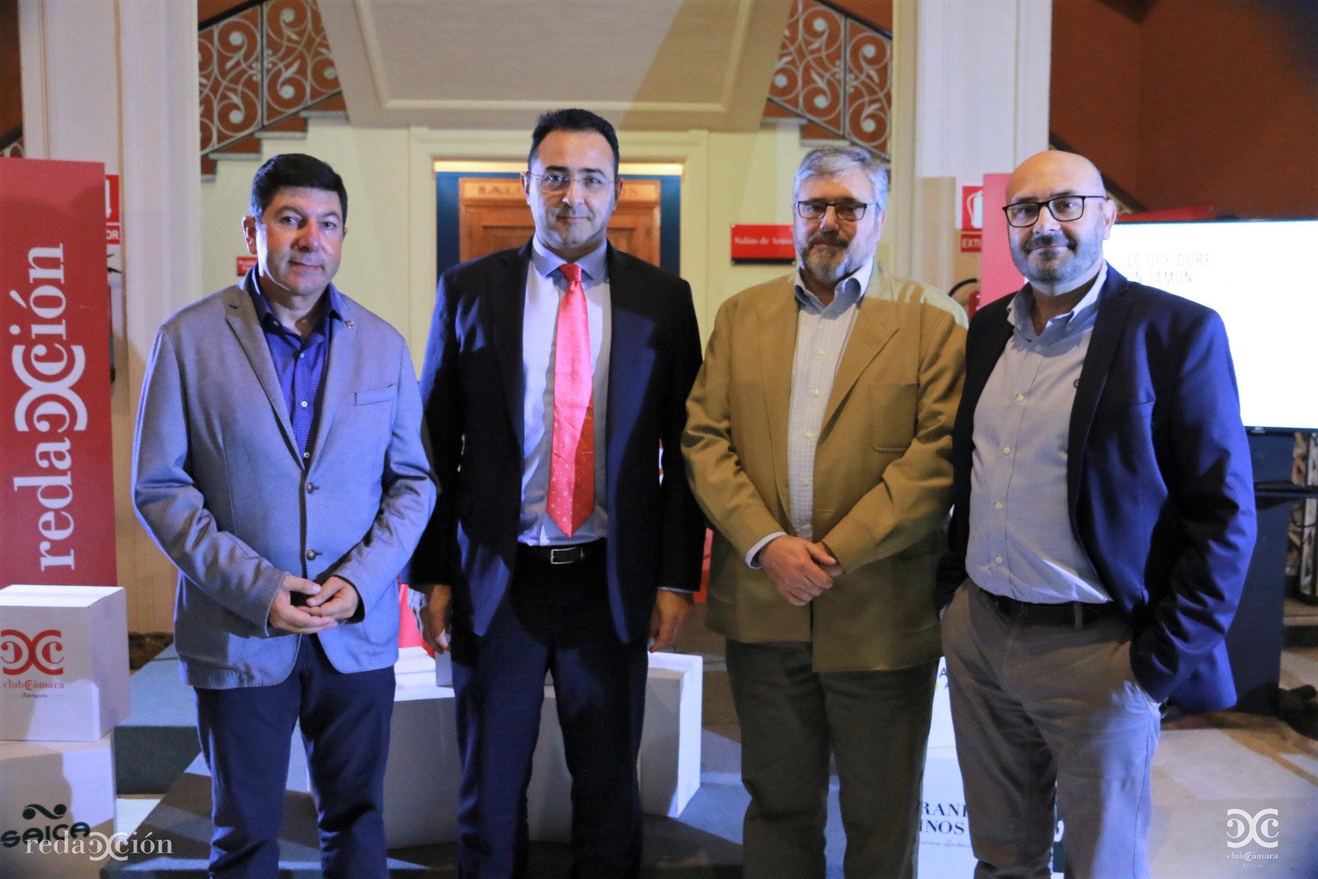 Armando Mateos, Daniel Álvarez, Juan Manuel Ubiergo y Ramón Añaños.