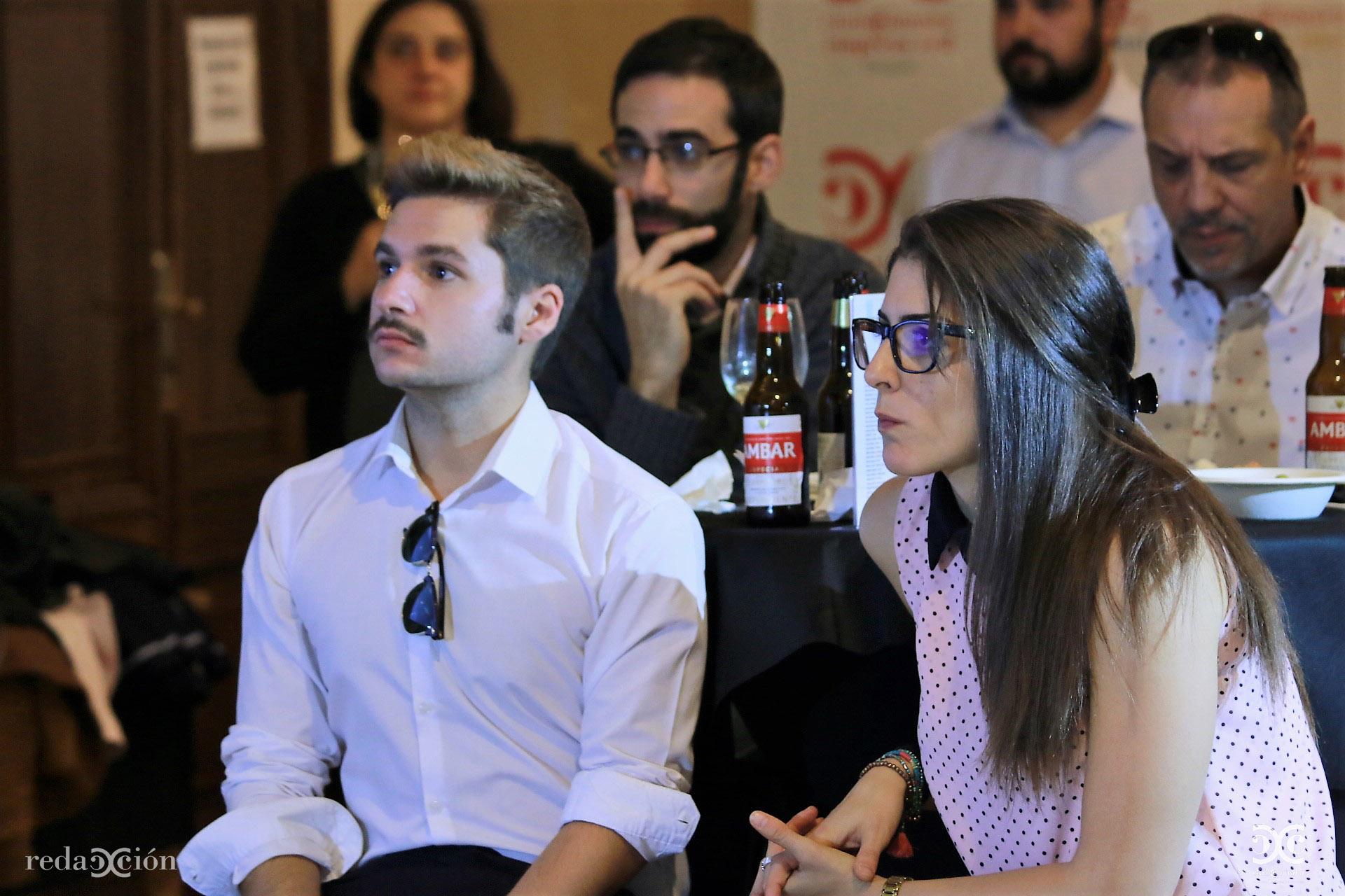 Jorge Lafuente y Rebeca Juste