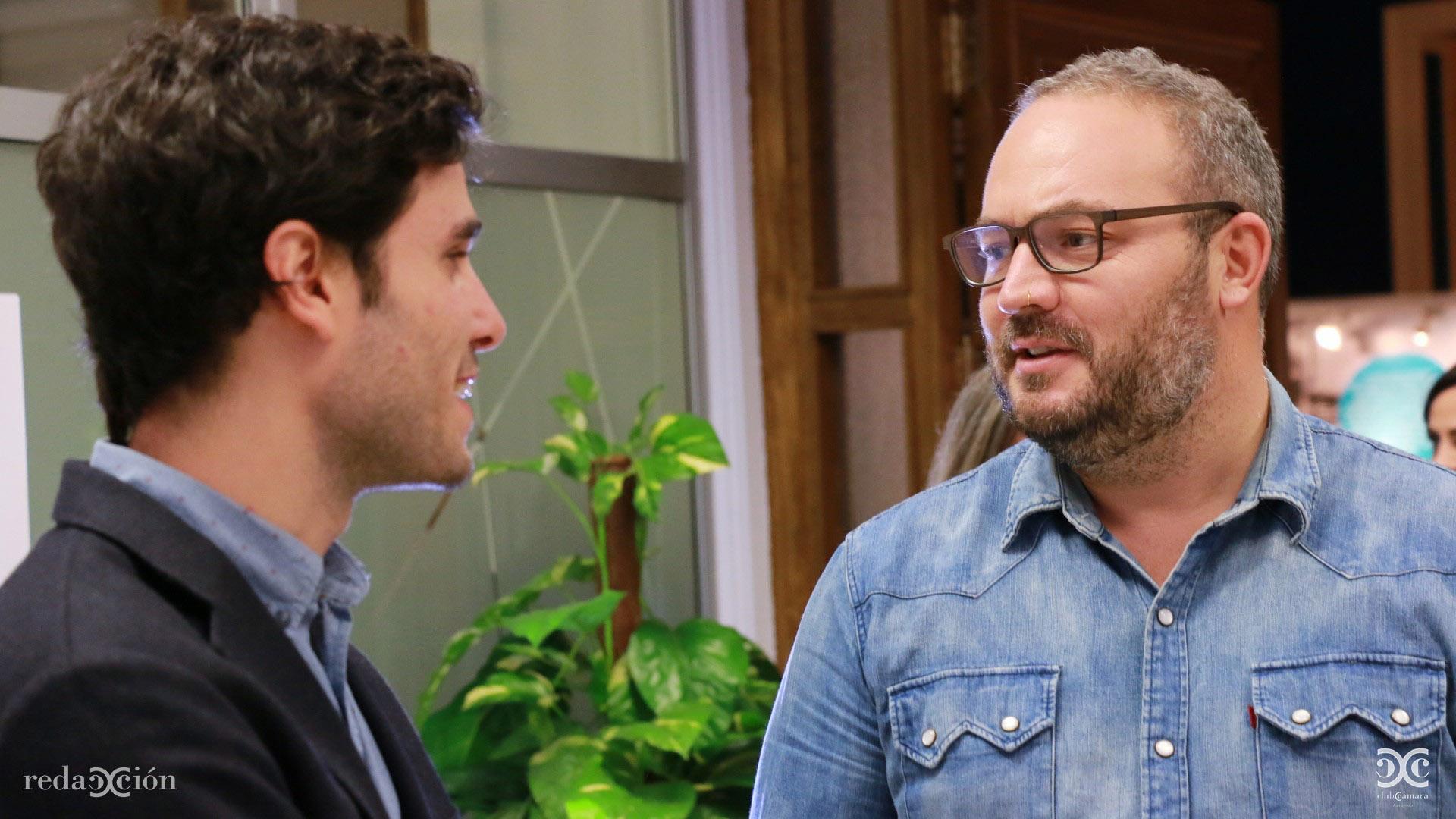 Carlos Larraz y Pablo Sanagustín