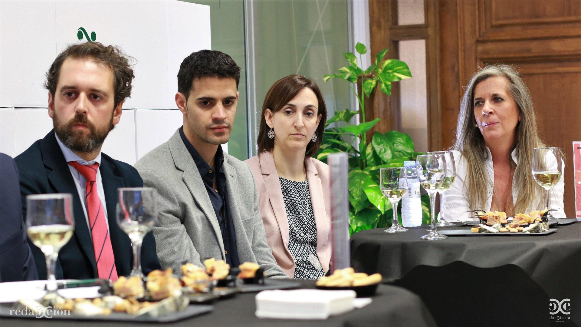 Miguel Ángel Cano, Rafa Ferrer, Marta Hernández y Mar Martínez.