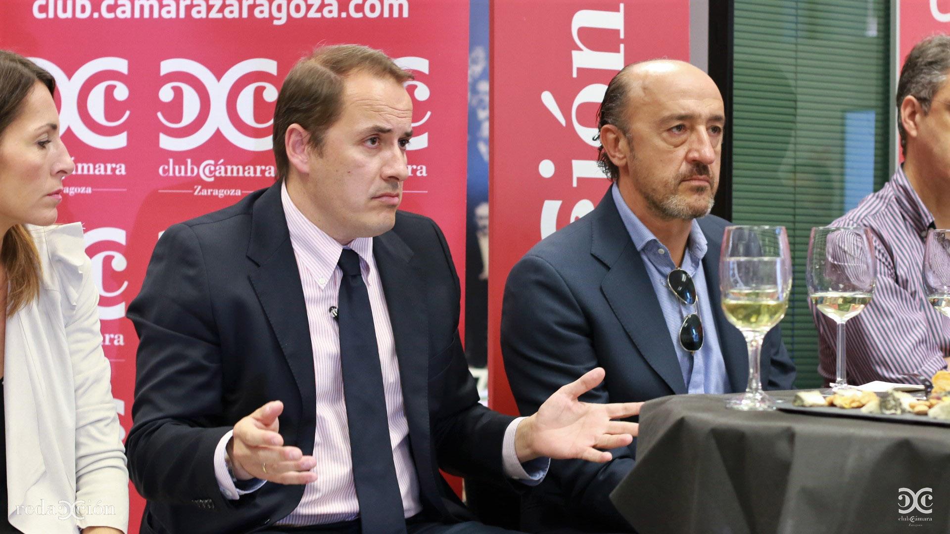 Jaime Mendoza y José María Baque.