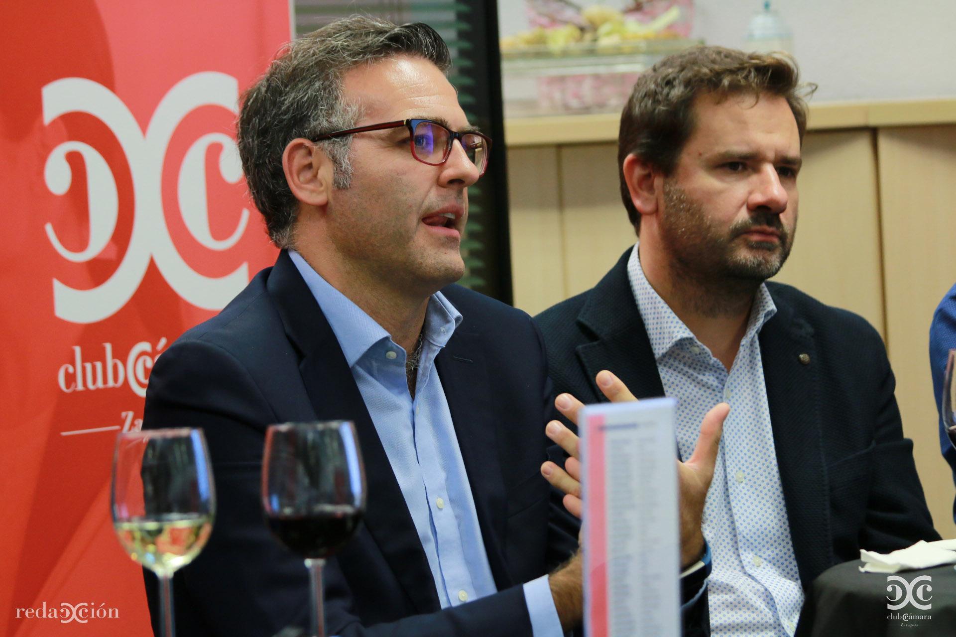 Javier Andonegui y Mariano Espallargas