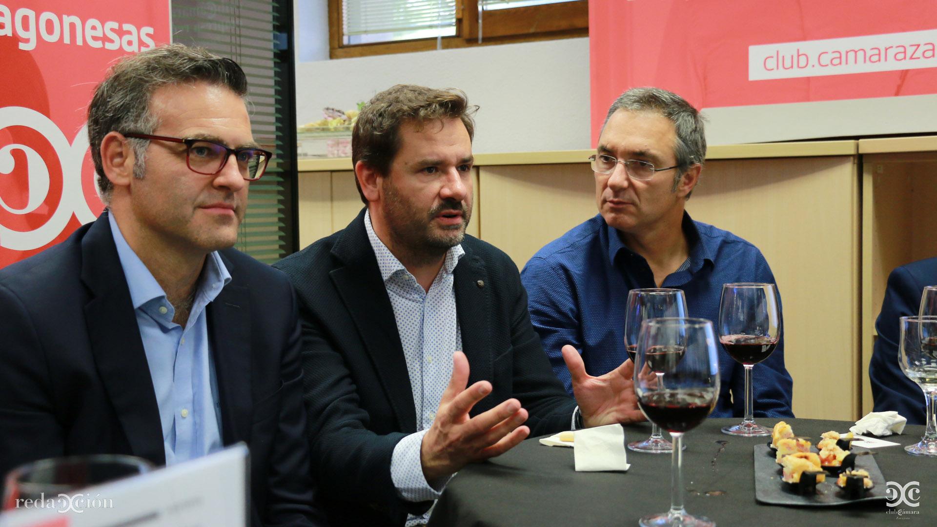 Javier Andonegui, Mariano Espallargas, Guilermo Gistau