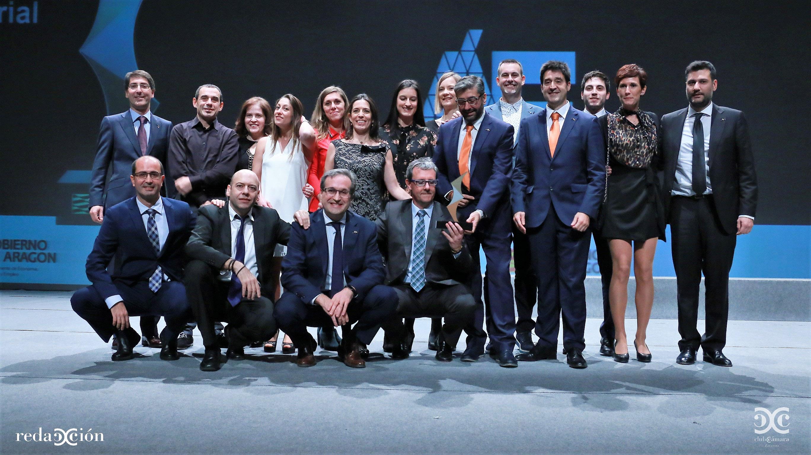 Foto de familia de los premiados. Fotos: Arturo Gascón.