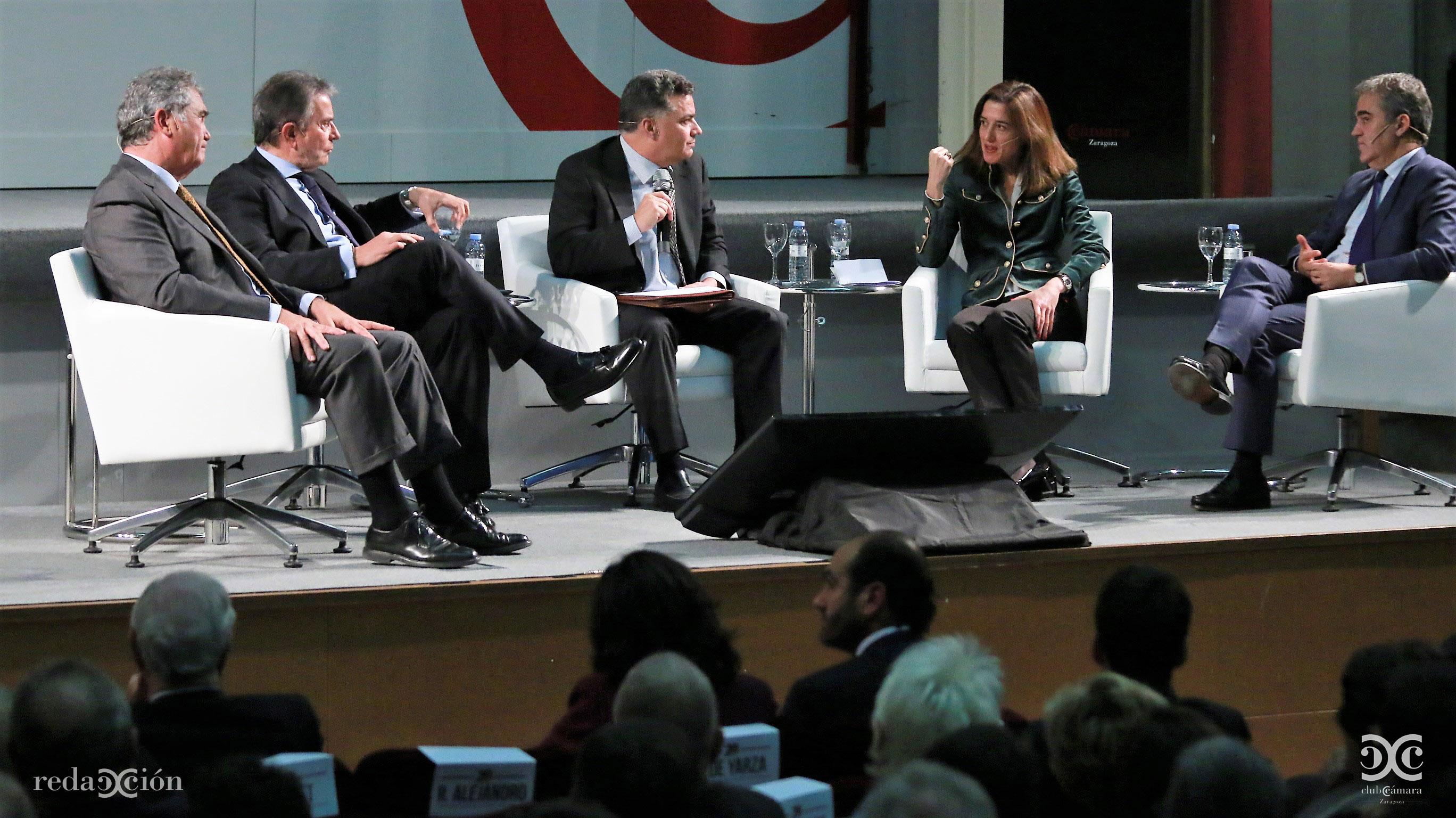 Alfonso Soláns, Antonio Catalán, Luis H. Menéndez, Inés Juste, Ramón Alejandro