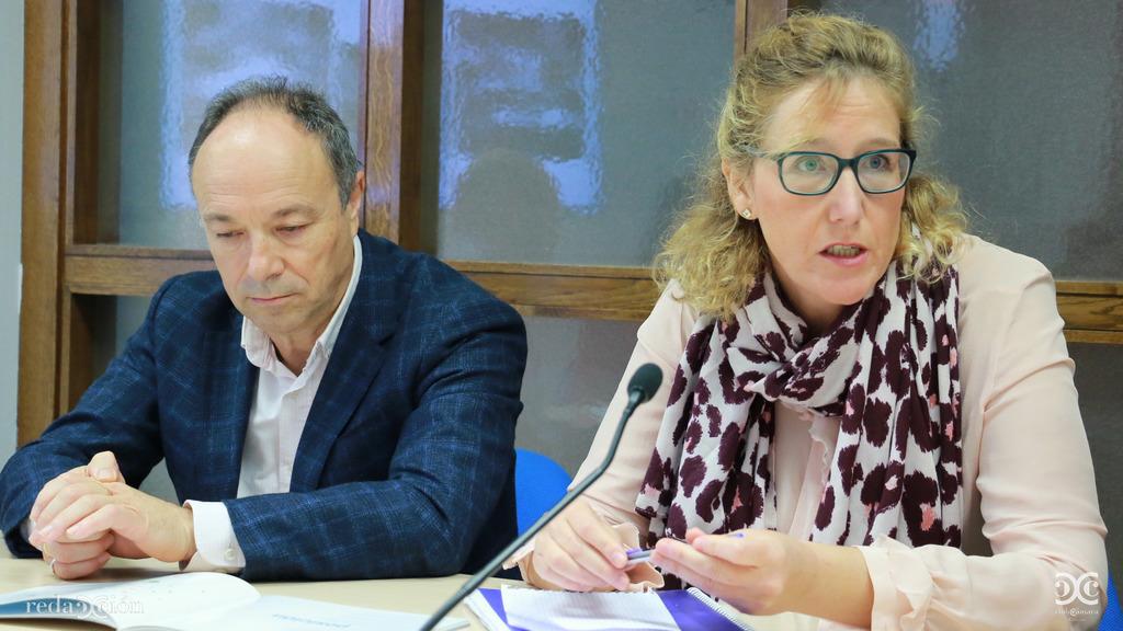 Alfonso Tarancón y Beatriz Gómez.