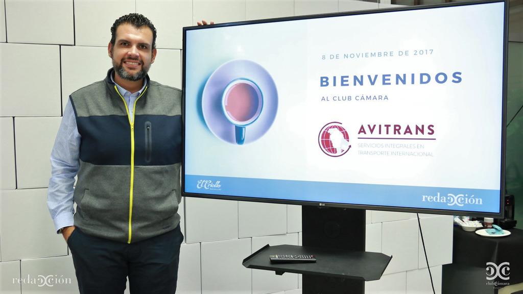 Javier Rodríguez, de Avitrans. Fotos: Arturo Gascón.