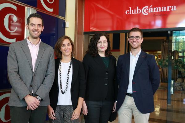 Jorge Álvarez, Pilar Fernández de Alarcón, Carolina Ciprés, Nacho Millán.