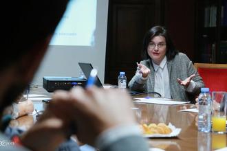 Vanessa Iglesias, de Mobexsa. Fotos: Arturo Gascón.