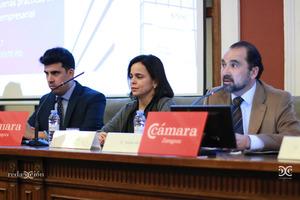 Sergio Pérez, Ana Oliván, Javier Domínguez