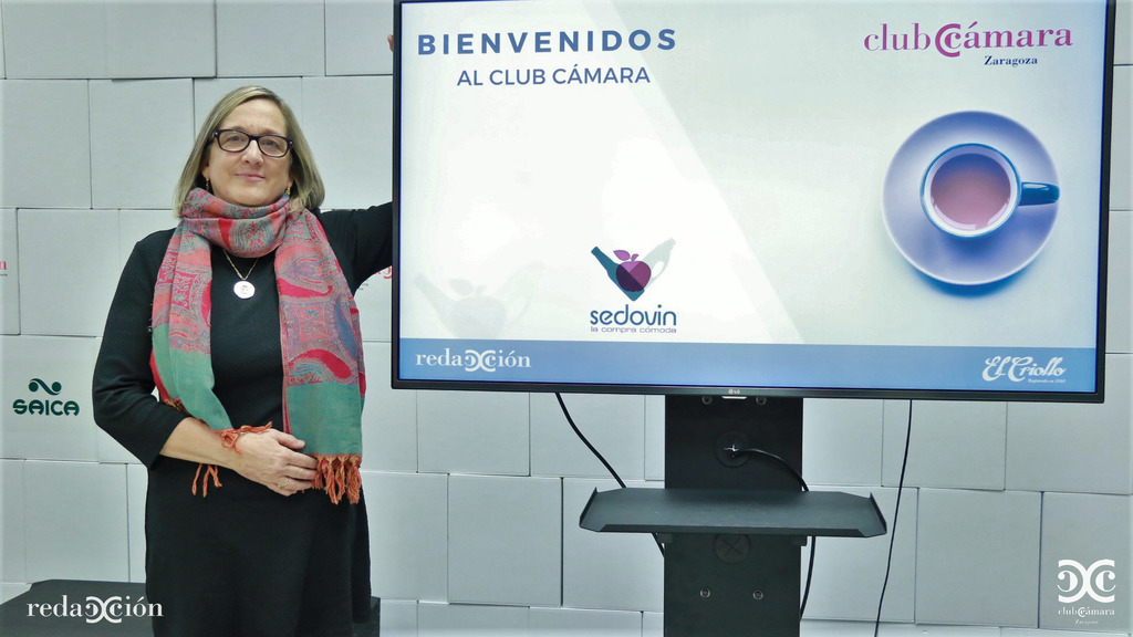 María Antonia Vilá, de Sedovin. Fotos: Arturo Gascón.