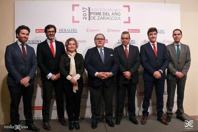 Ganadores Premio Pyme del Año Zaragoza 2017