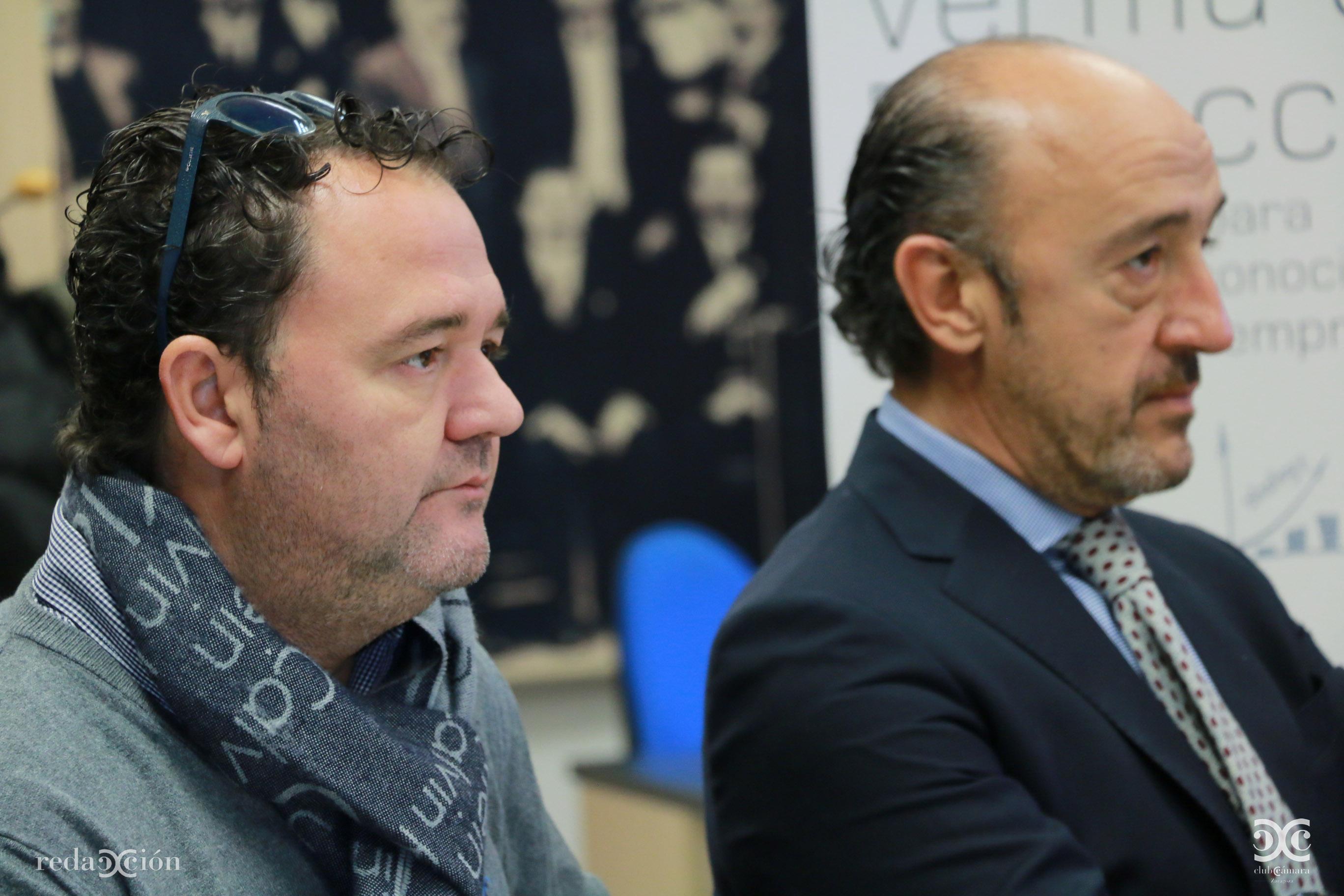Alberto Martín y José María Baqué.