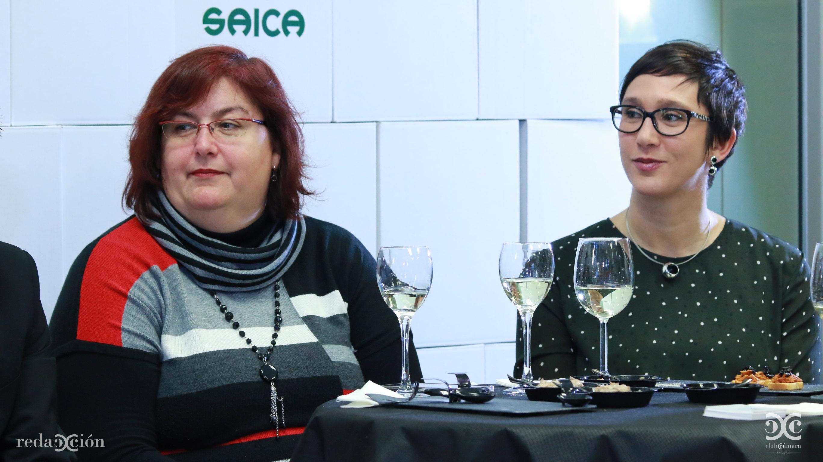 Inmaculada Martínez y Mónica Núñez