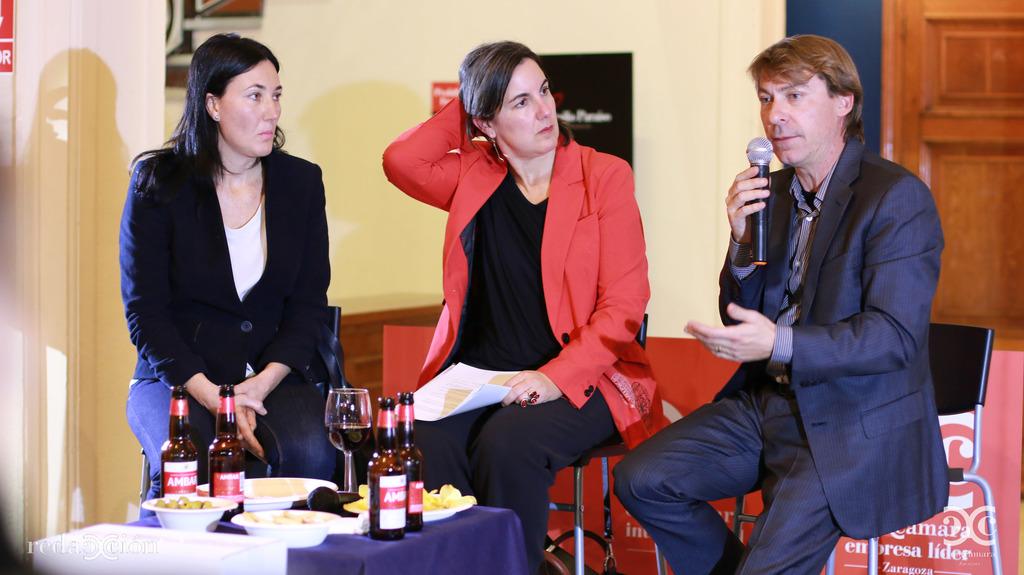 Maite Lou, Ruth Lázaro y Alberto Asensio. Fotos: Arturo Gascón.