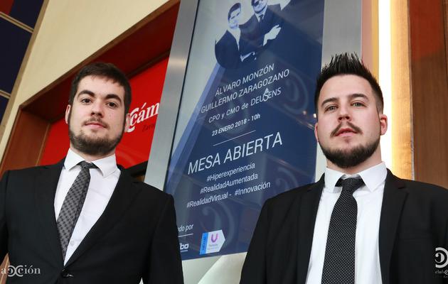 Álvaro Monzón y Guillermo Zaragozano, de DeuSens.
