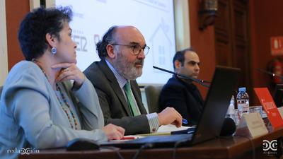 Adelina Uriarte, Luis Bartolomé y Pablo Carranza