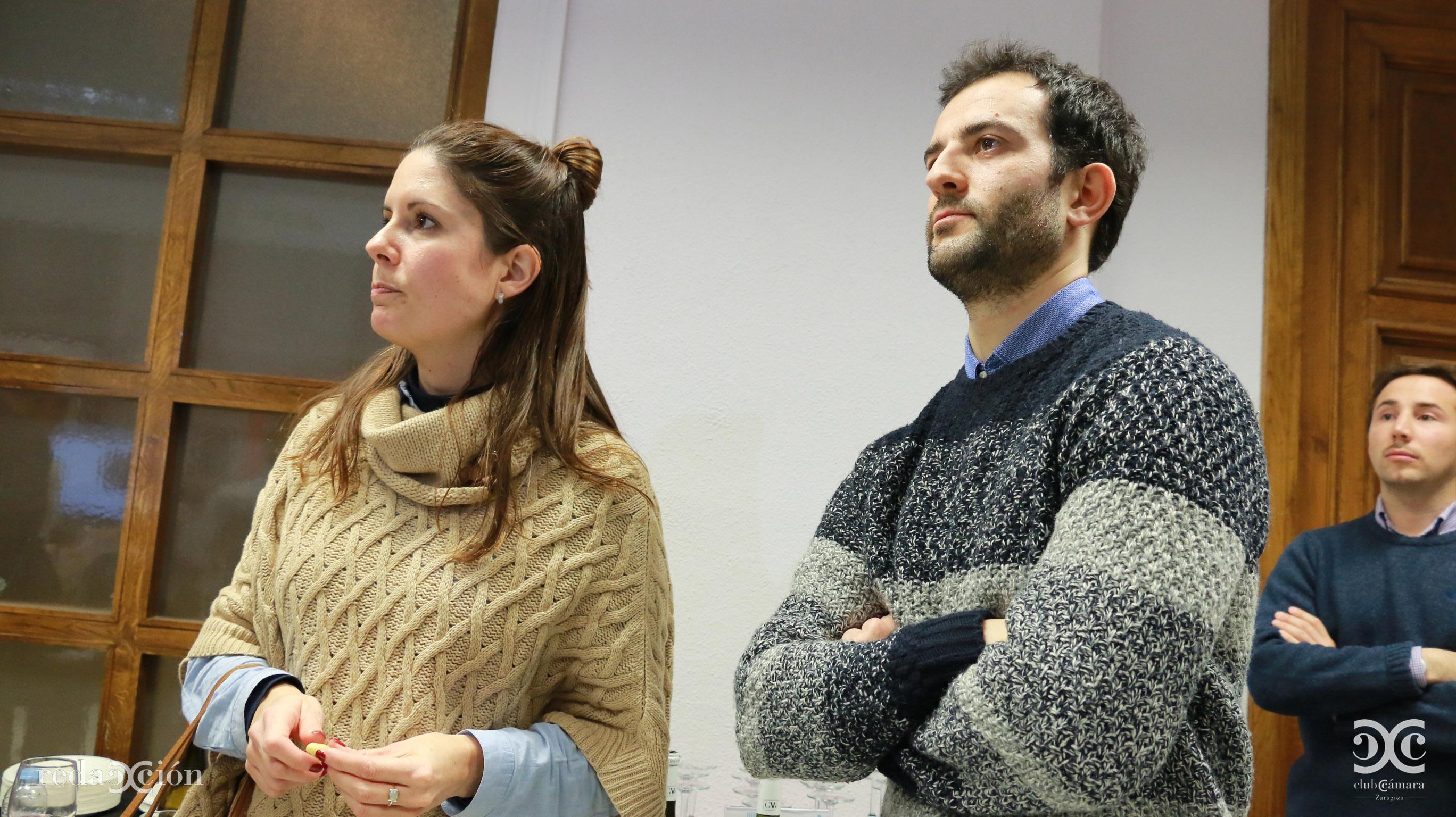 Elisa Cahue y Alfredo Ferrer, de Kampal