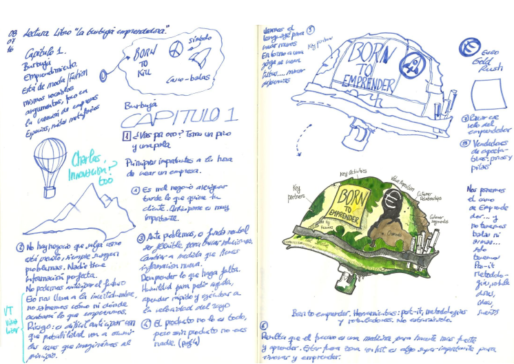 Concepto de portada para 'La burbuja emprendedora' de Fernando Abadía.