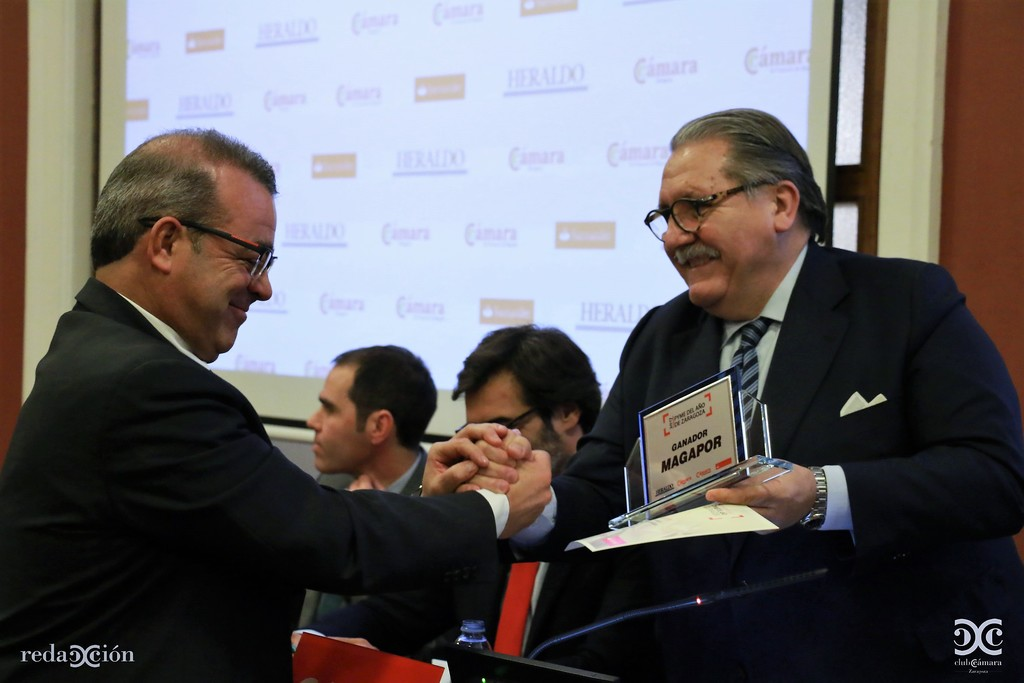 Magapor se alzó con el Premio Pyme Zaragoza 2017.