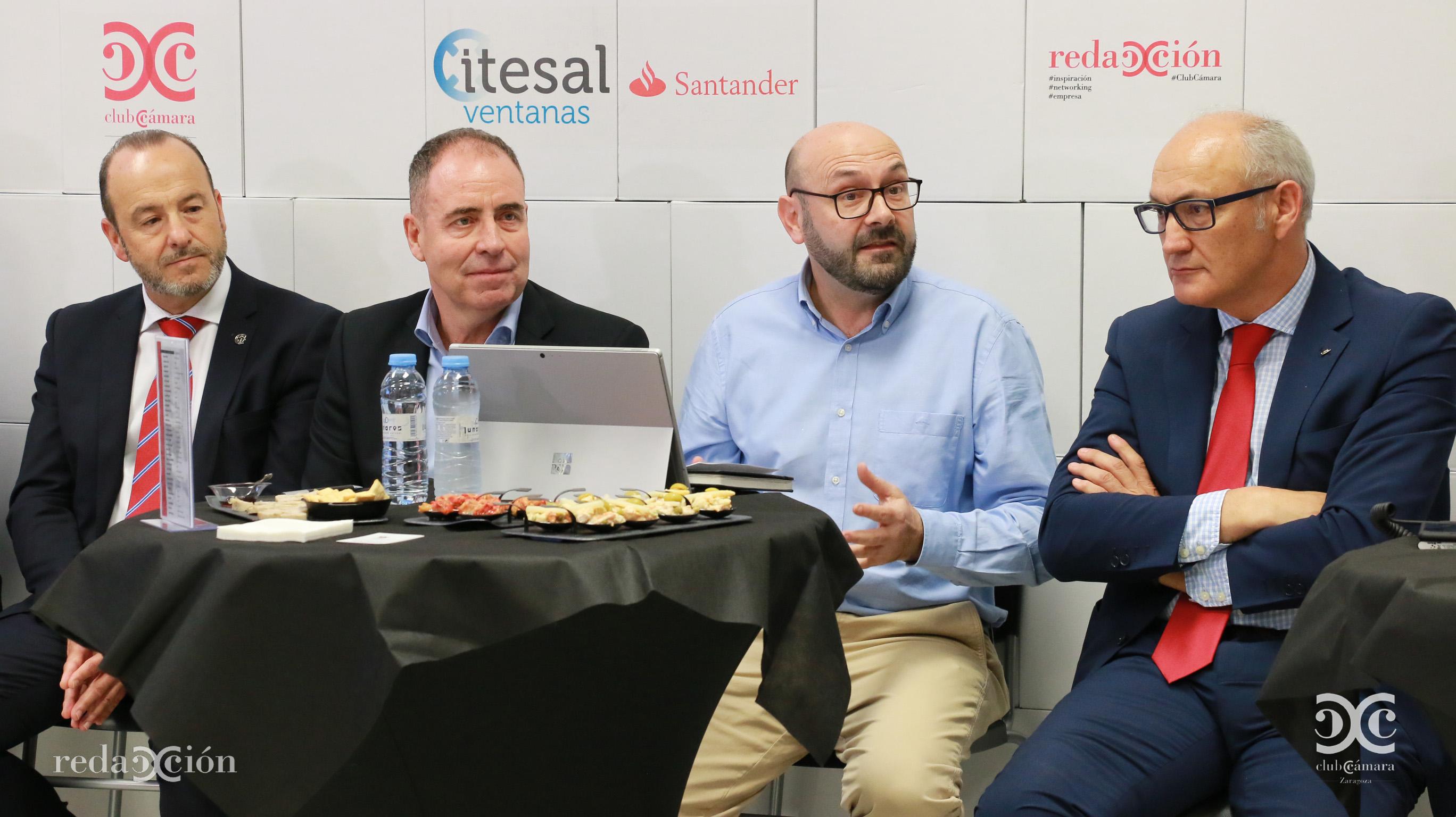Manuel Castillo, Ramón Añaños y José Antonio Lázaro.