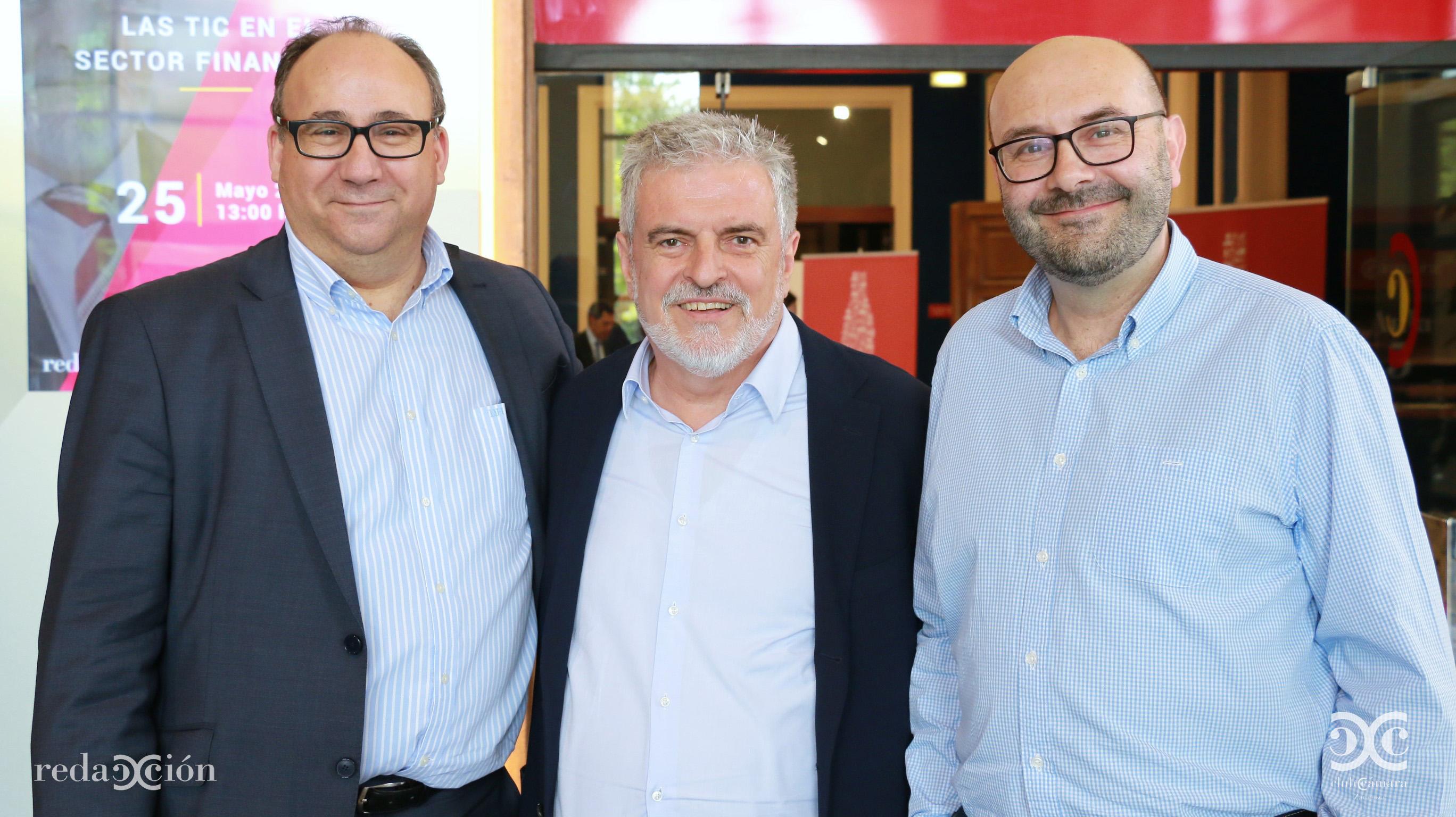Jesús Fernández Tapias, Carlos Eres y Ramón Añaños.