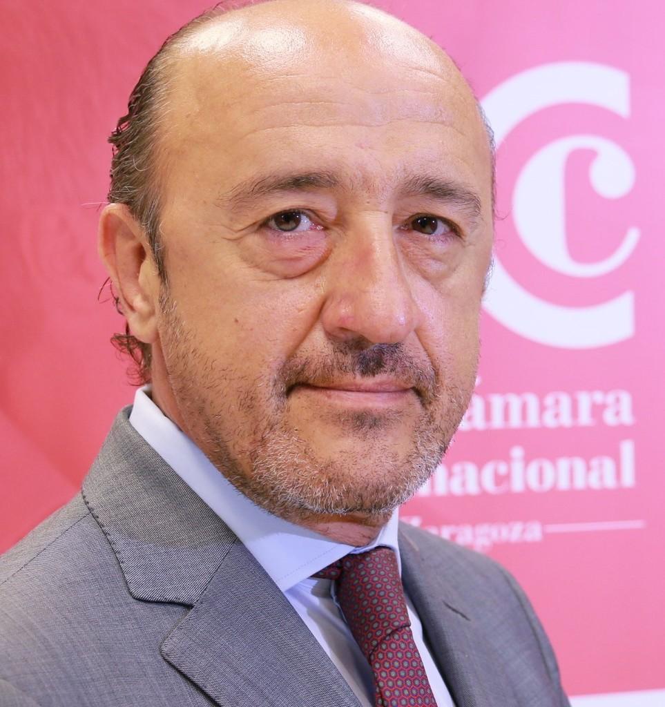 José María Baqué. Dirección comercial de Cámara Zaragoza.
