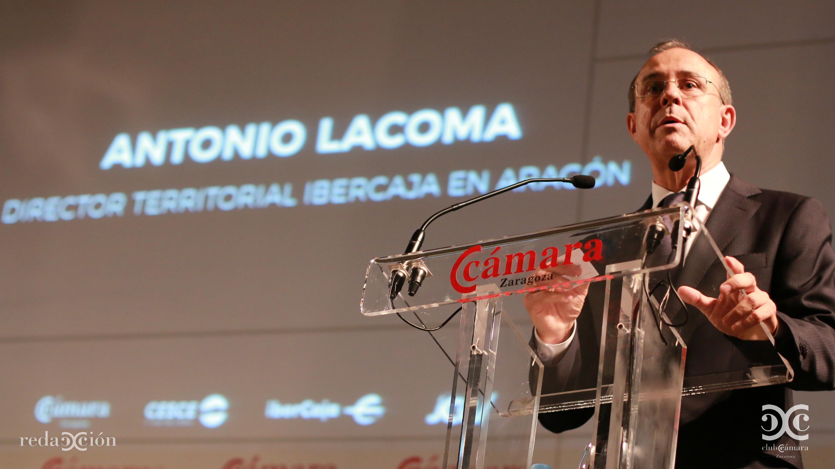 Antonio Lacoma, de Ibercaja.