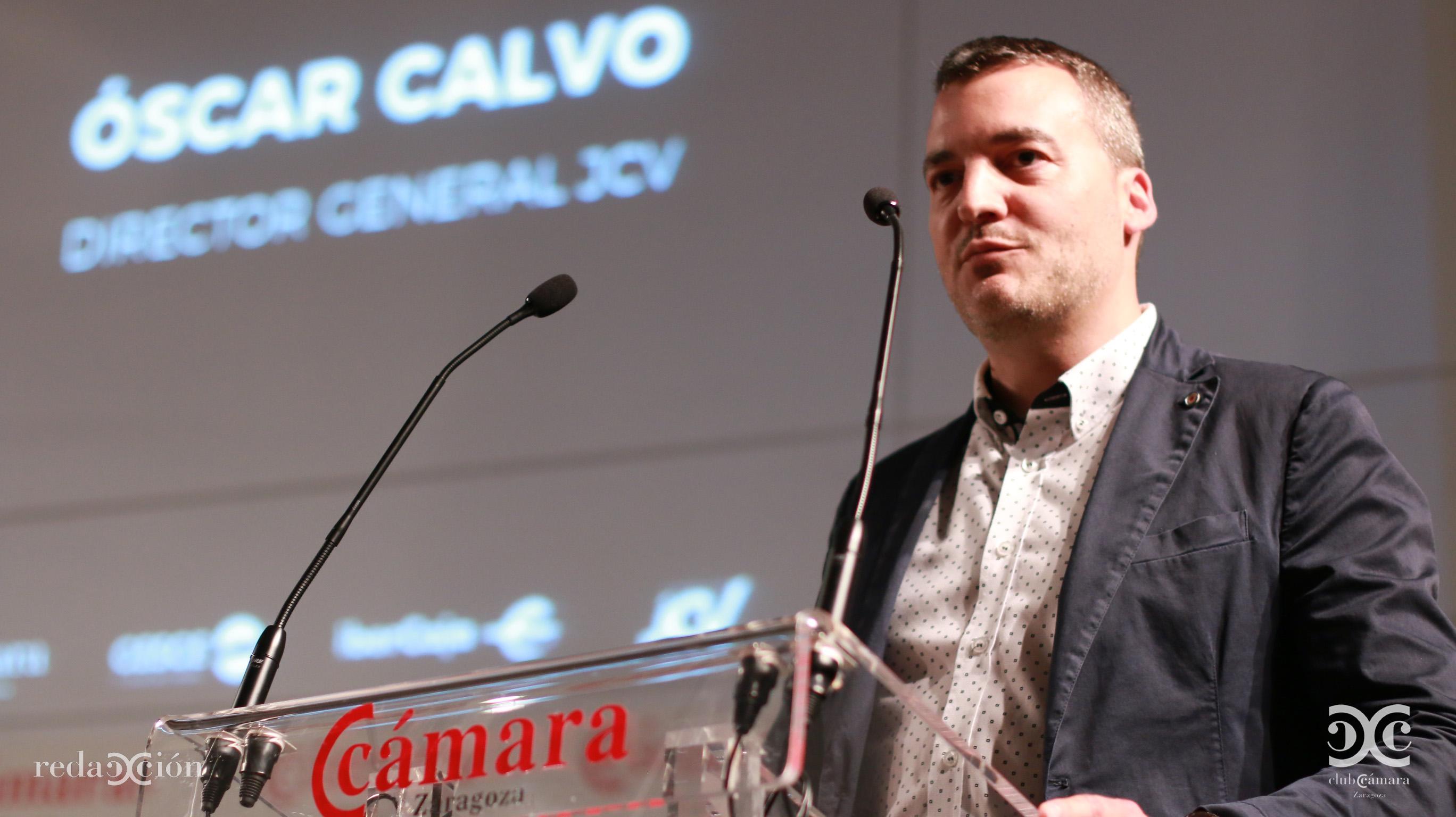 Óscar Calvo, de JCV