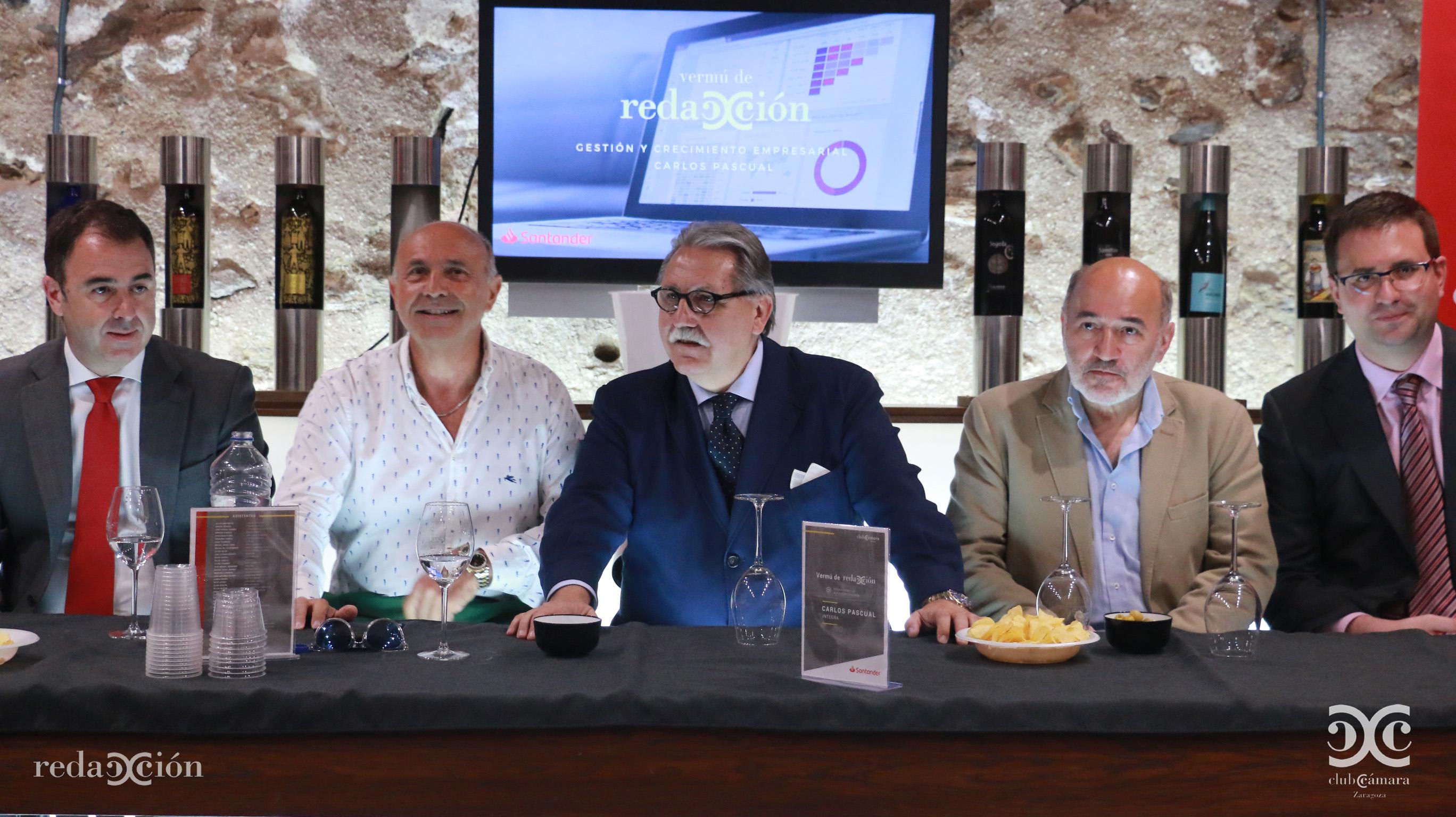 Javier Gallego, Carlos Pascual, Manuel Teruel y José Manuel Aranda. Fotos: Arturo Gascón.