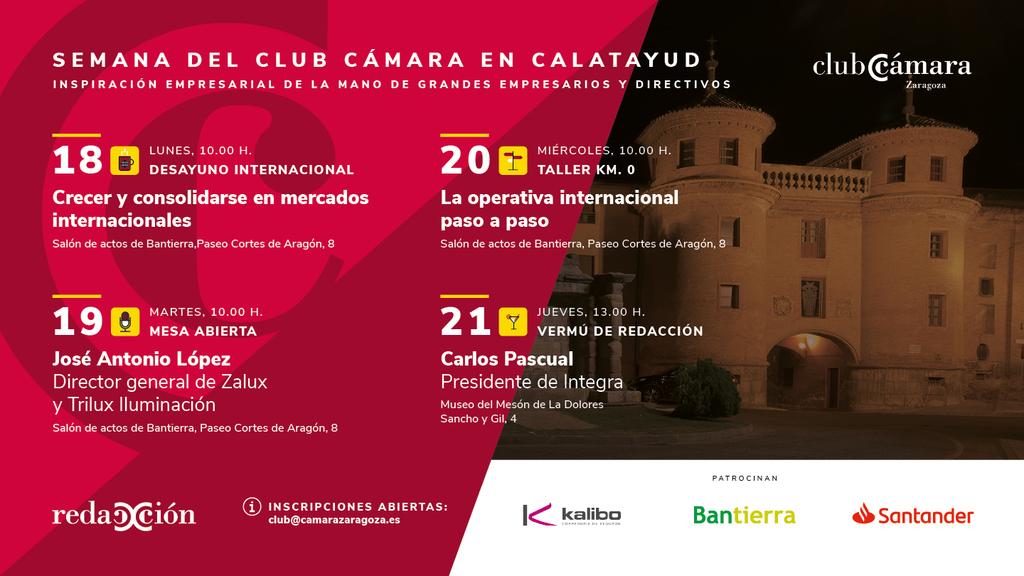 Semana Club Camara Calatayud