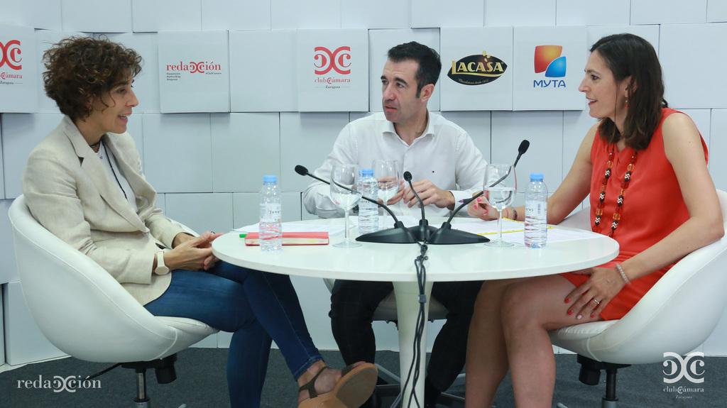 Izaskun Ríos, Miguel Ángel Martínez, María Molina, Myta, Chocolates Lacasa