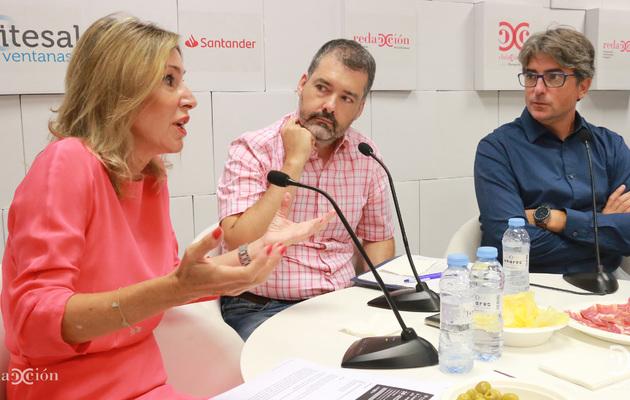 Ana Blanch, Daniel Bel e Iban Moreno. Fotos: Arturo Gascón.