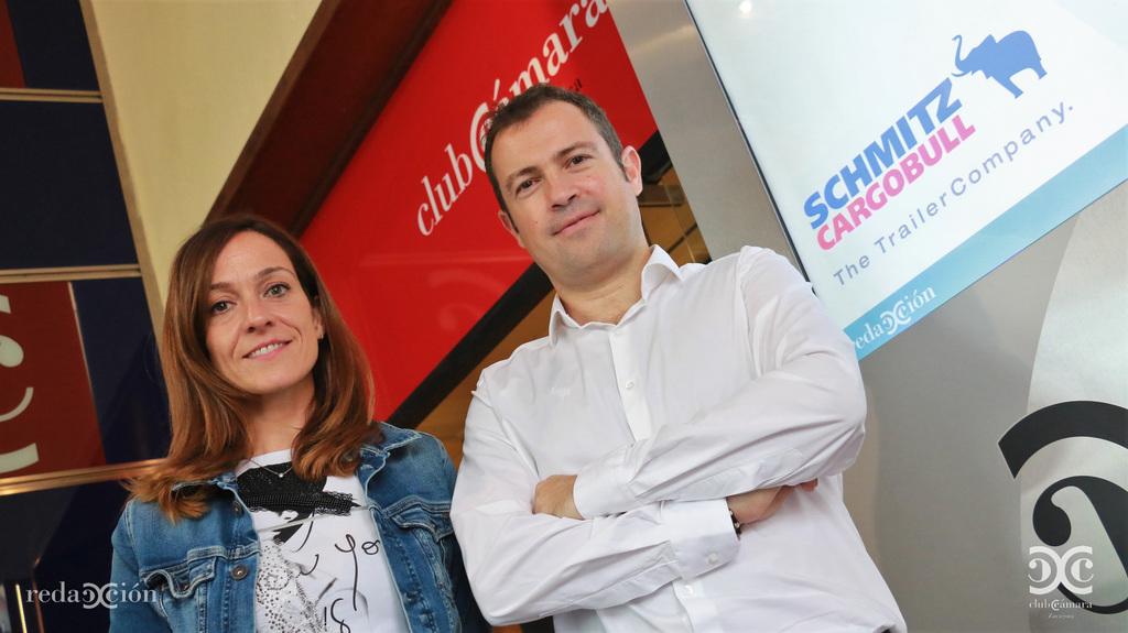Olivia Bengoechea, Gonzalo Pueyo, Schmitz Cargobull