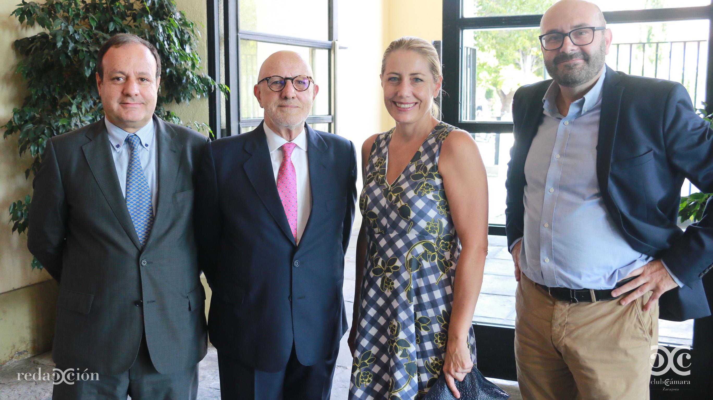 José Miguel Sánchez, Juan Calvo, Cristina Luque y Ramón Añaños.