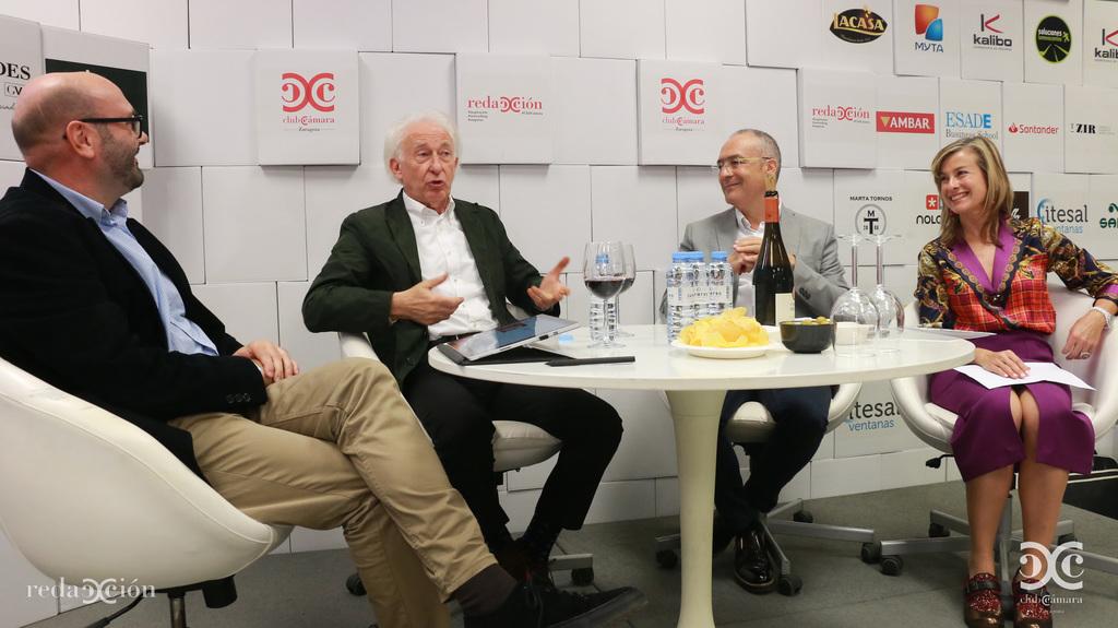 Ramón Añaños, Albert Boadella, José Javier Rueda y Valle García de Novales.