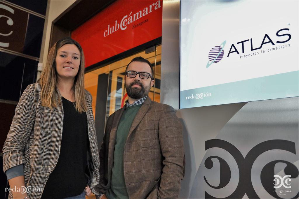 Javier Vicente, Aixa Salas, Atlas Proyectos Informáticos.