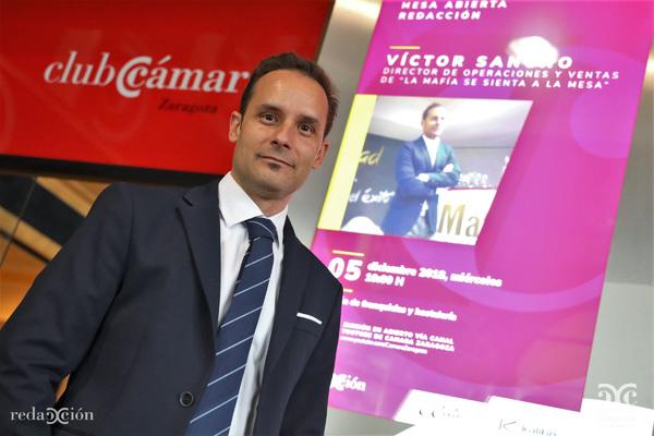 Víctor Sancho, La Mafia se sienta a la mesa