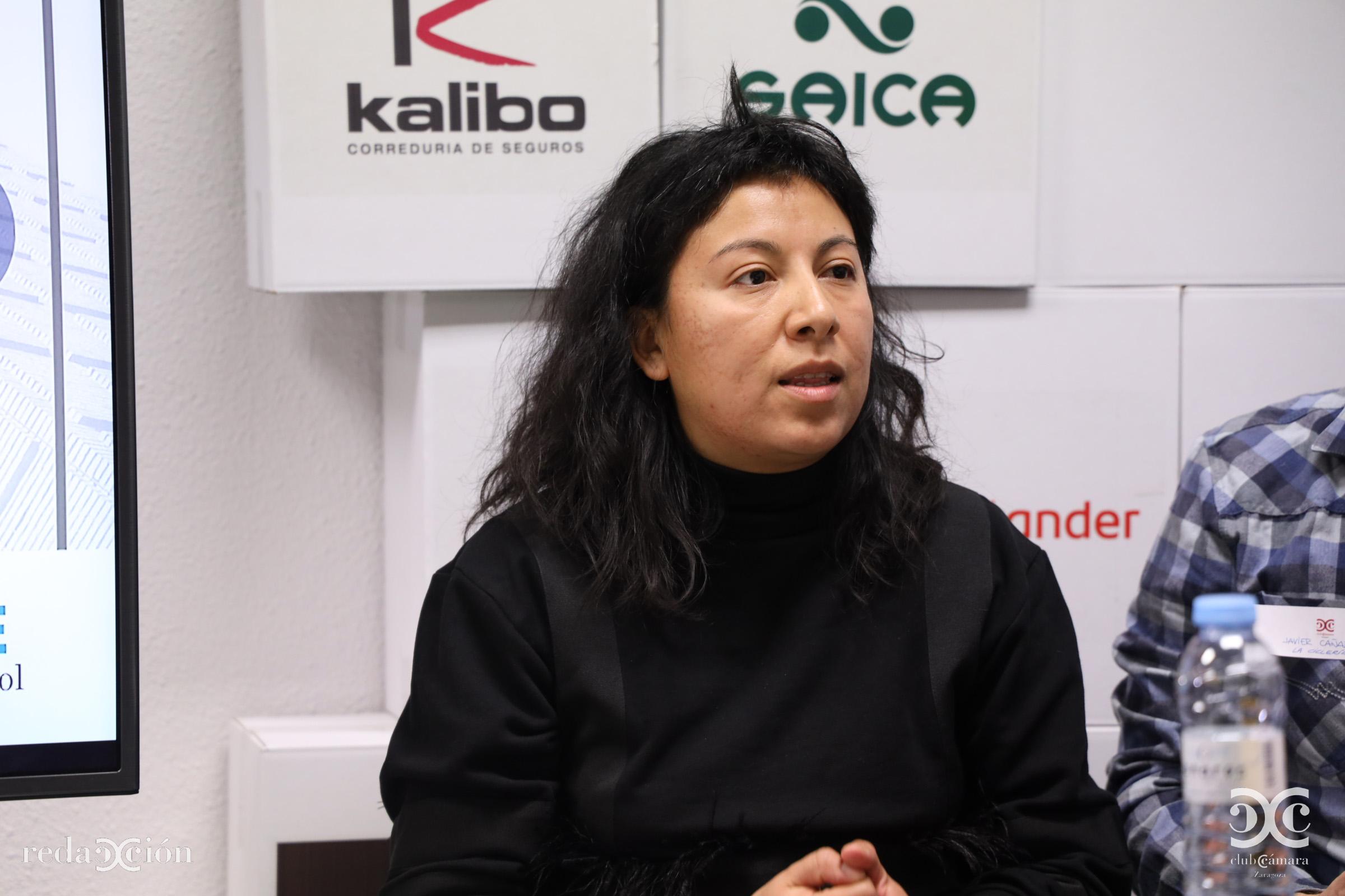 Mercedes Cruz, La Ciclería