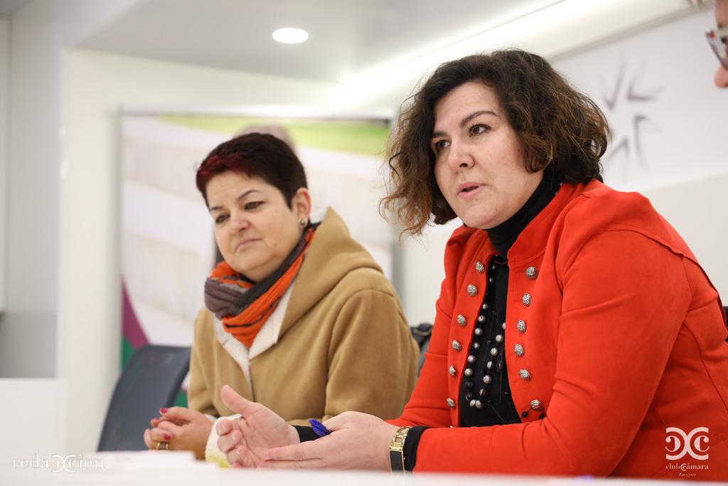 Lourdes Sánchez, Ana Tarazona, Asociación Comerciantes Tarazona