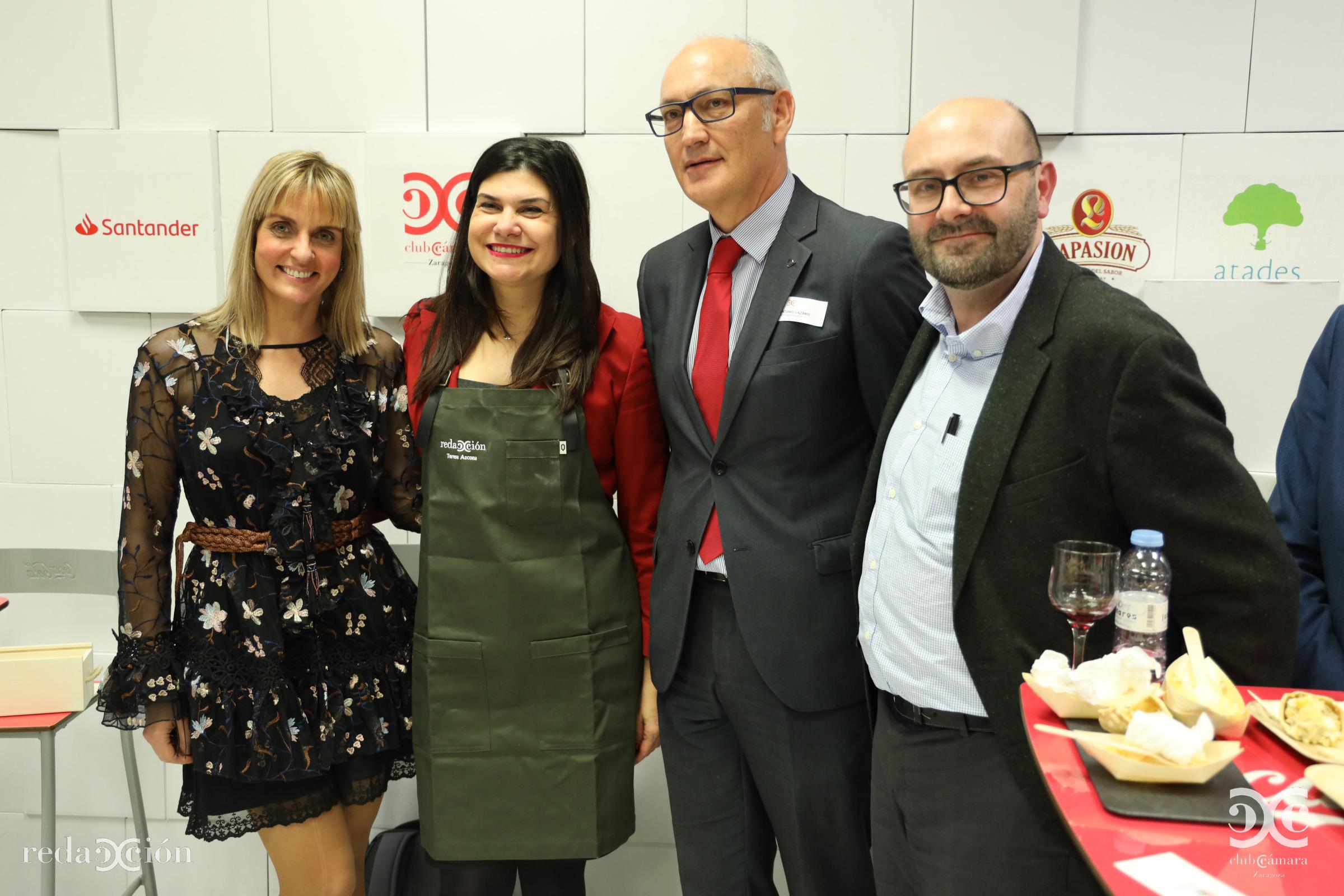 Mónica Manero, Teresa Azcona, José Antonio Lázaro , Ramón Añaños