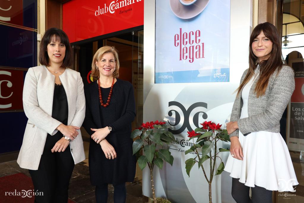 Mª Carmen Lascasas, Vanessa Krum, Marta López Alvira, Elece Legal