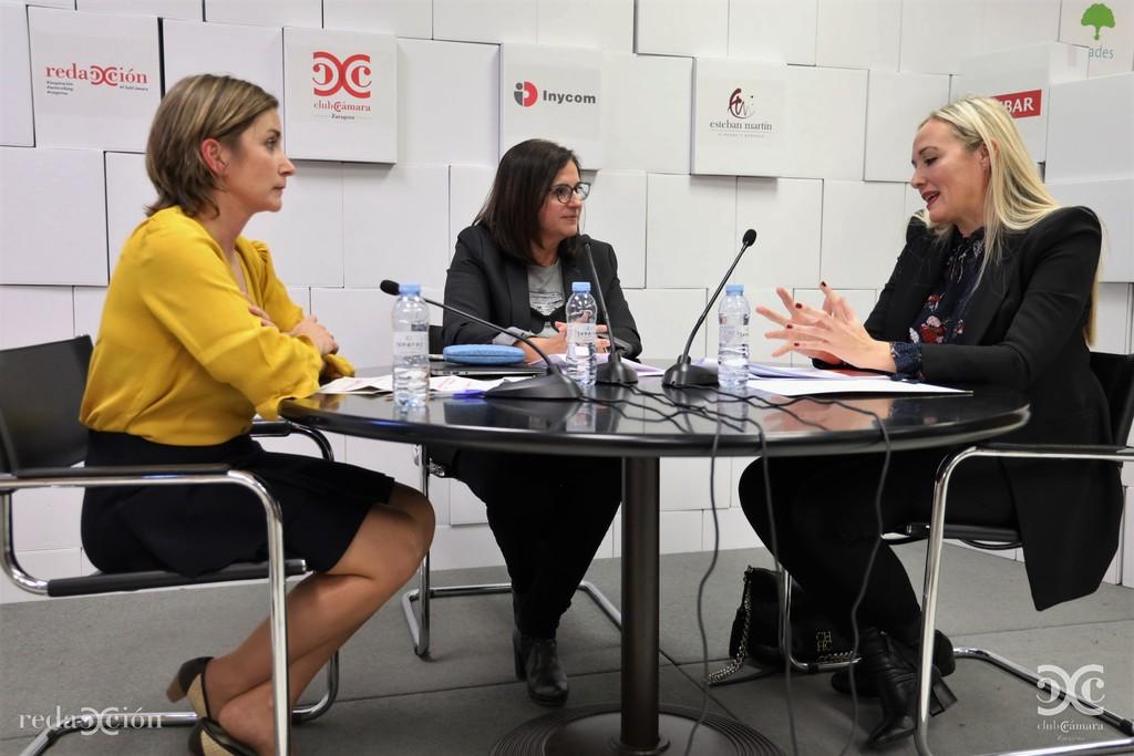 Manuela Delgado, MP Ascensores, Carmen Urbano, Inycom, Elena Arcusa, Aldelis