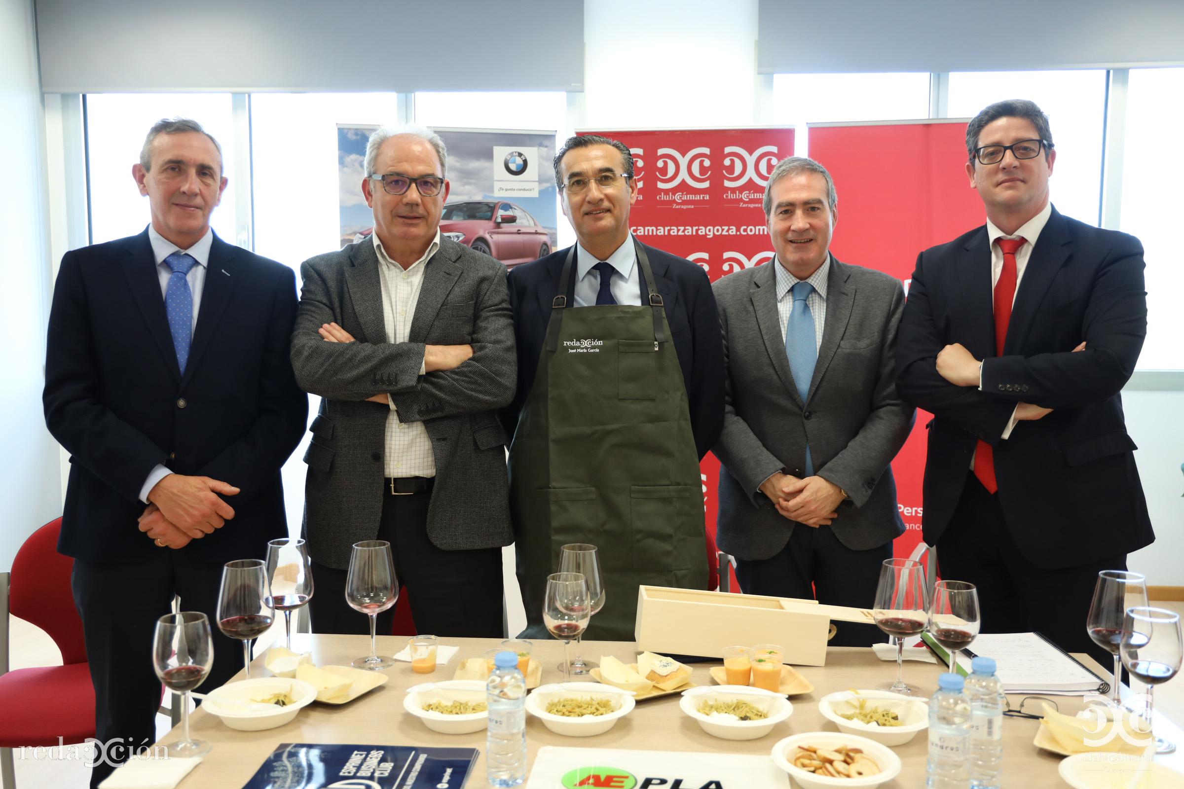 José Benedicto, Goya Automoción, Miguel Marzo, Pikolín, José María García, Esprinet, Francisco Javier Sebastián Machetti, Grupo Lacor, Aepla