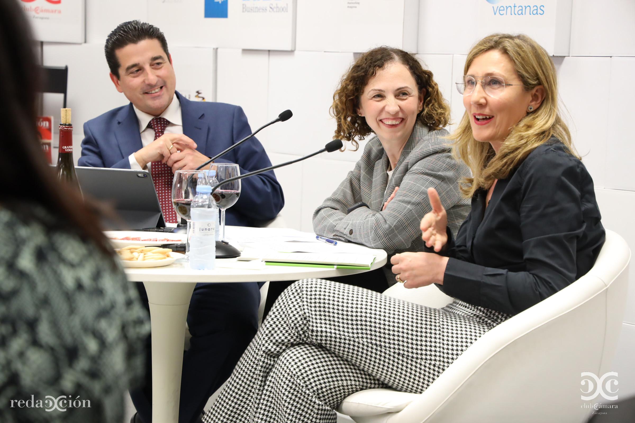 Fernando Moraga, Elena Sanjoaquín, Rosa Beltrán