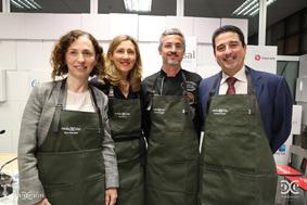 Elena Sanjoaquín, Rosa Beltrán, Iván Martínez, Fernando Moraga