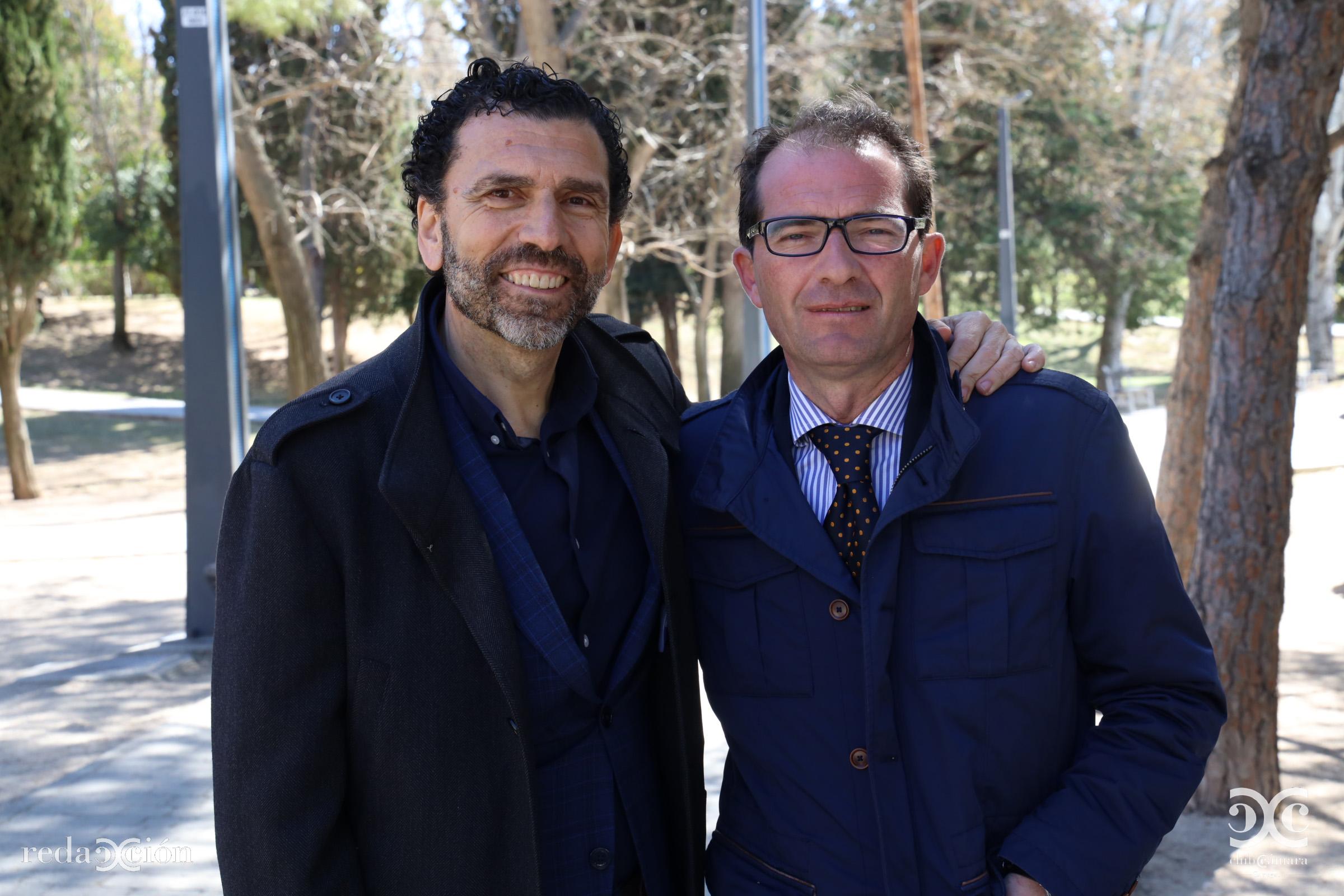 Enrique Torguet y José Antonio Ramos.