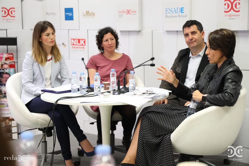 Beatriz Soriano, Meritxell Laborda, Juan Ignacio Martínez, Silvia Palacios.