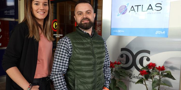 Aixa Salas, Javier Vicente, Atlas Proyectos Informáticos